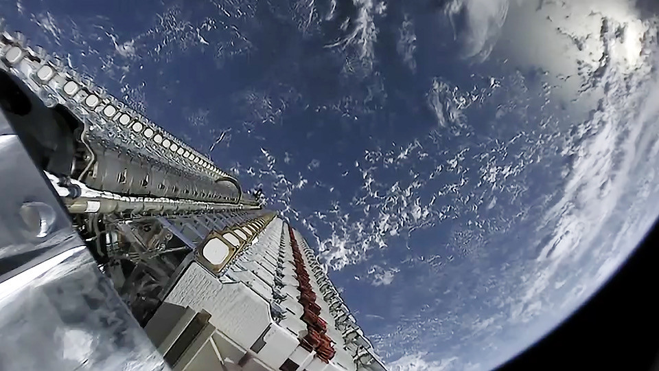 Starlink Satellite Stack