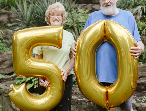 N0EBB Don And Gerrie 50th Anniversary
